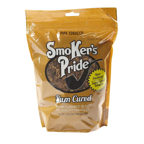 Smoker's Pride Rum Pipe Tobacco | 12 OZ BAG