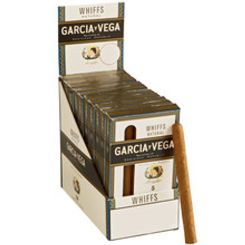Garcia Y Vega Whiff Cigars (10 Packs Of 5) - Natural