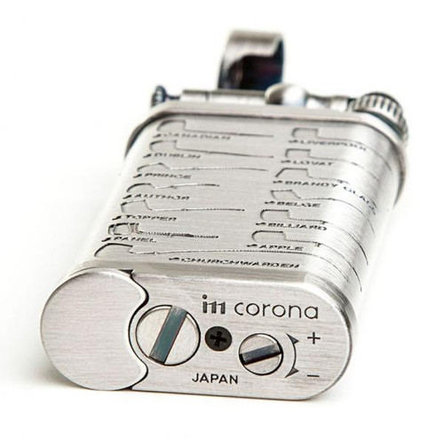 IM Corona Old Boy Pewter Pipe Shape Lighter