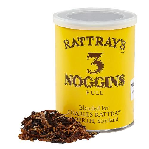 Rattray's 3 Noggins Pipe Tobacco   3.5 OZ TIN