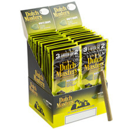 Dutch Masters Cigarillos White Grape Cigars (20 packs of 3) - Candela