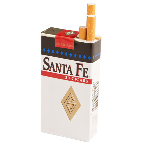 Santa Fe Filtered Mild Cigars (10 packs of 20) - Natural