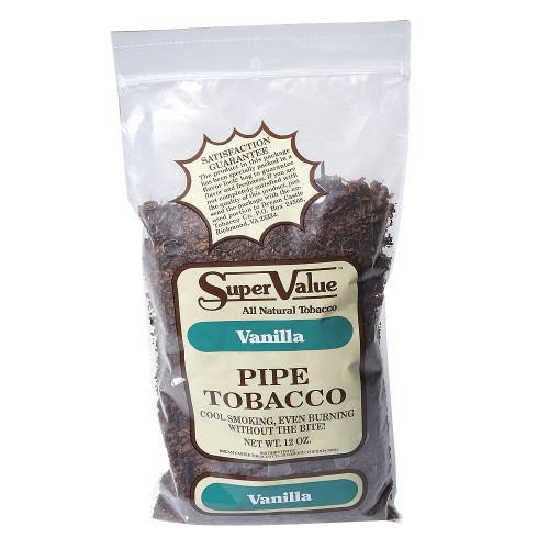 Super Value Vanilla Pipe Tobacco   12 OZ BAG