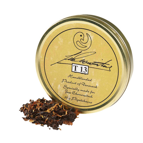 Chonowitsch T 13 Pipe Tobacco   1.75 OZ TIN