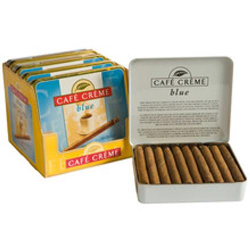 Henri Wintermans Cafe Creme Mild Cigars (Blue) (5 Tins Of 20) - Natural