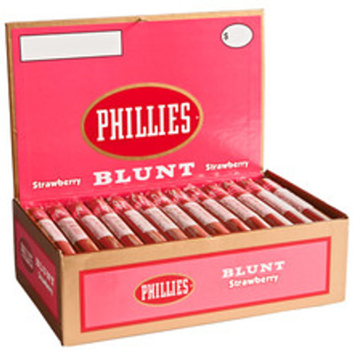 Phillies Blunt Strawberry Cigars (Box of 55) - Natural