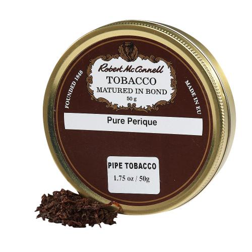 McConnell's Pure Perique Pipe Tobacco | 1.75 OZ TIN