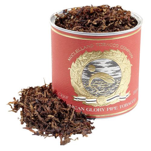 McClelland Cigar Blends Dominican Glory Pipe Tobacco   3.5 OZ TIN