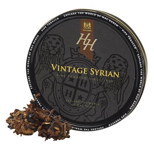 Mac Baren HH Vintage Syrian Pipe Tobacco | 3.5 OZ TIN