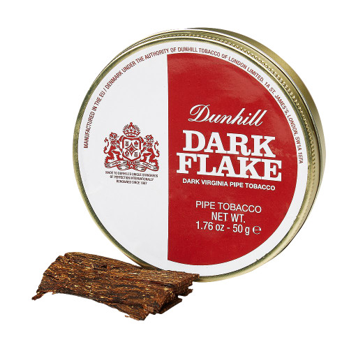 Dunhill Dark Flake Pipe Tobacco | 1.75 OZ TIN