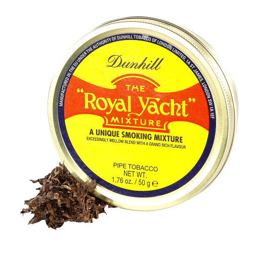 Dunhill The Royal Yacht Pipe Tobacco | 1.75 OZ TIN