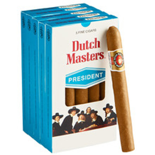 Dutch Masters President Cigars (5 Packs Of 5) - Natural