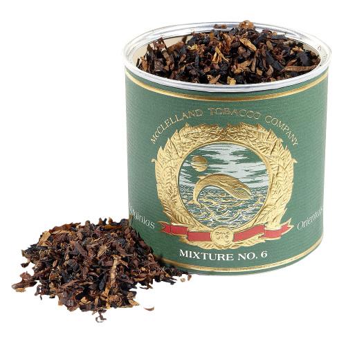McClelland Oriental Mixture No. 6 Pipe Tobacco   3.5 OZ TIN