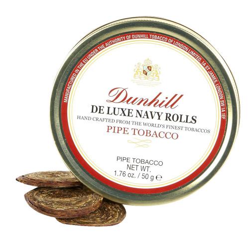 Dunhill De Luxe Navy Roll Pipe Tobacco | 1.75 OZ TIN
