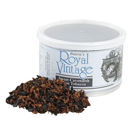 Butera Sweet Cavendish Pipe Tobacco   1.75 OZ TIN