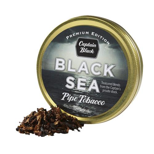 Captain Black Black Sea Pipe Tobacco | 1.75 OZ TIN