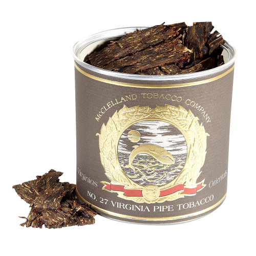 McClelland Matured Virginias No. 27 Pipe Tobacco   3.5 OZ TIN