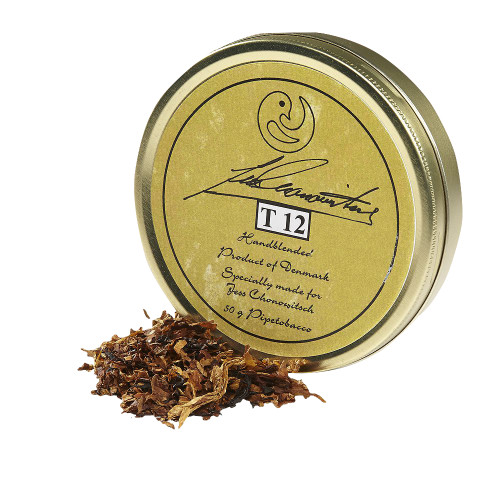 Chonowitsch T 12 Pipe Tobacco   1.75 OZ TIN