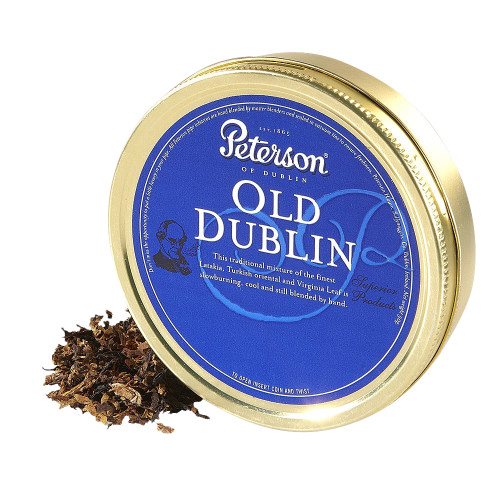Peterson Old Dublin Pipe Tobacco | 1.75 OZ TIN