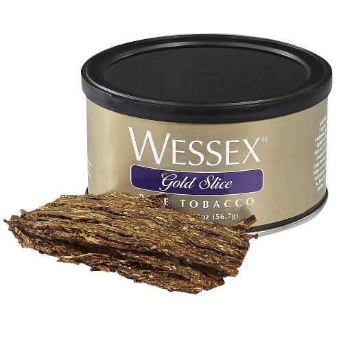 Wessex Gold Slice Pipe Tobacco | 2 OZ TIN