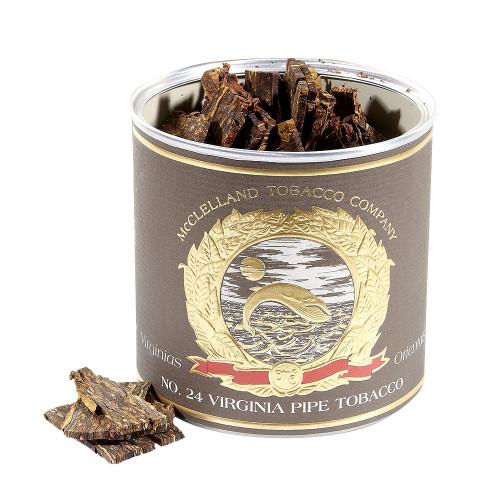 McClelland Matured Virginias No. 24 Pipe Tobacco   3.5 OZ TIN