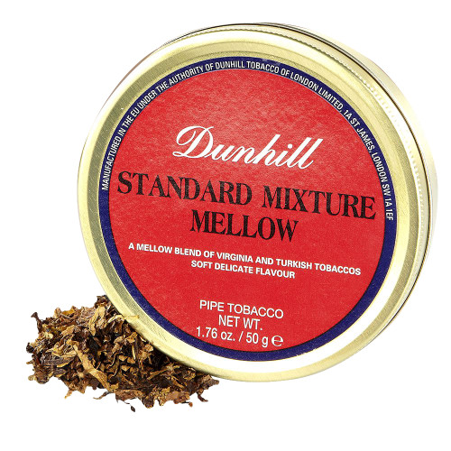 Dunhill Standard Mixture Mellow Pipe Tobacco | 1.75 OZ TIN