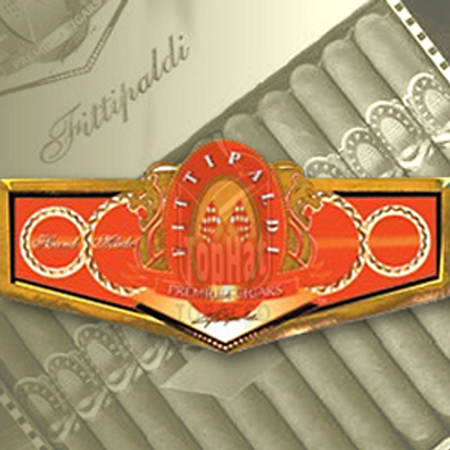 Fittipaldi Anniversary Robusto Tubed Cigars - 5 x 50