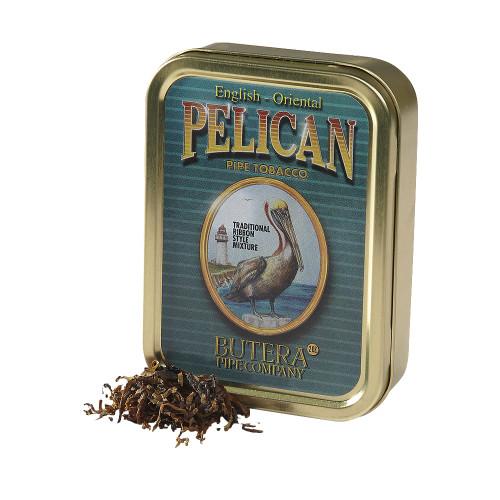 Butera Pelican Pipe Tobacco   2 OZ TIN