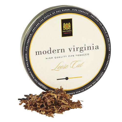 Mac Baren Modern Virginia Loose Cut Pipe Tobacco | 3.5 OZ. TIN