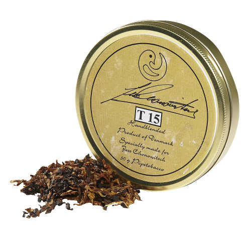 Chonowitsch T 15 Pipe Tobacco   1.75 OZ TIN