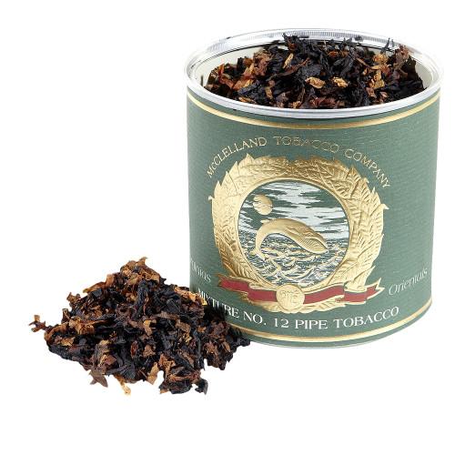 McClelland Oriental Mixture No. 12 Pipe Tobacco   3.5 OZ TIN
