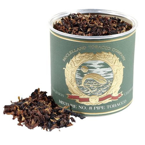 McClelland Oriental Mixture No. 8 Pipe Tobacco   3.5 OZ TIN