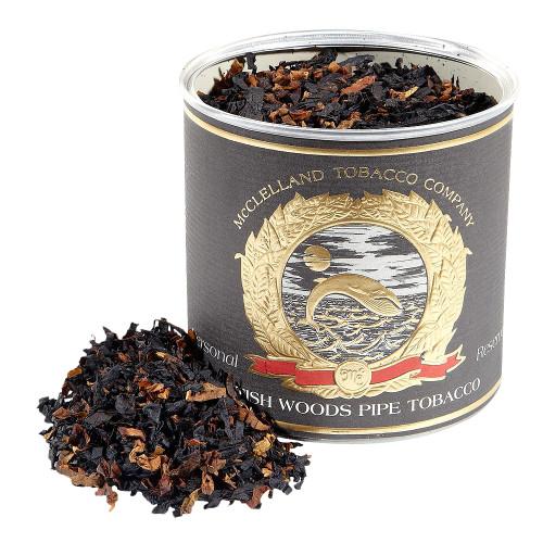 McClelland British Woods Pipe Tobacco   3.5 OZ TIN