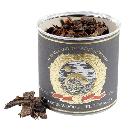 McClelland St. James Woods Pipe Tobacco   3.5 OZ TIN
