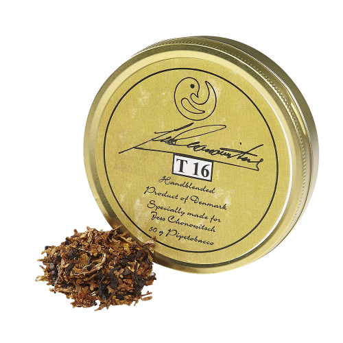 Chonowitsch T 16 Pipe Tobacco   1.75 OZ TIN