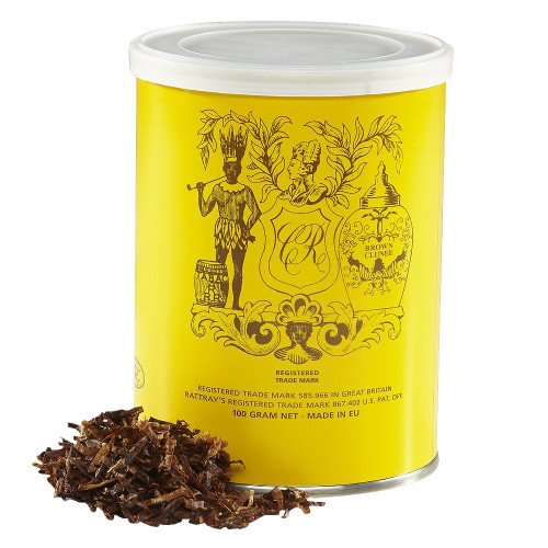 Rattray's Brown Clunee Pipe Tobacco   3.5 OZ TIN
