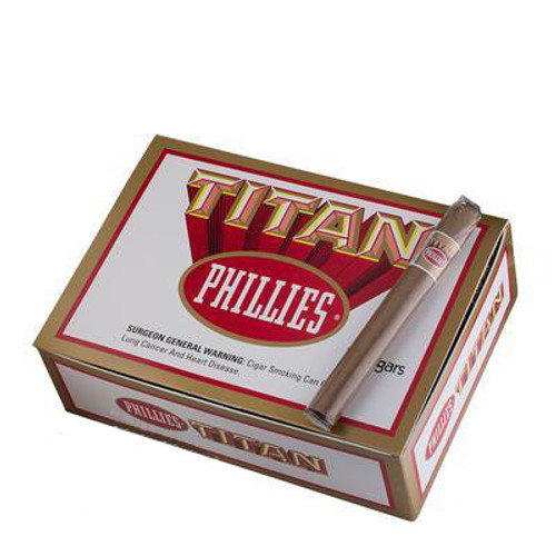 Phillies Titan Cigars (Box of 50) - Natural