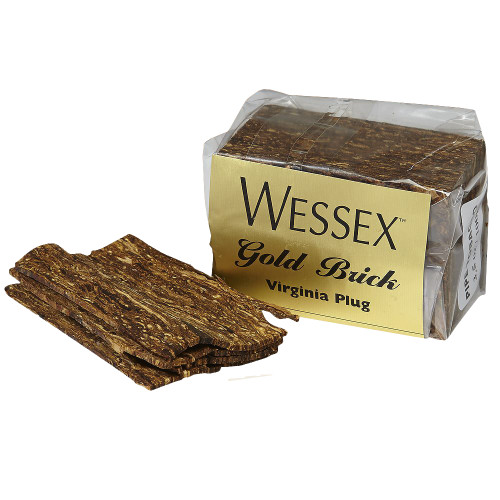 Wessex Gold Brick Pipe Tobacco | 3.50 OZ FOIL