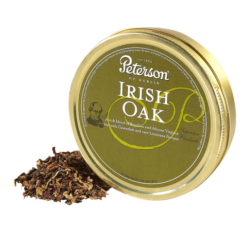 Peterson Irish Oak Pipe Tobacco | 1.75 OZ TIN