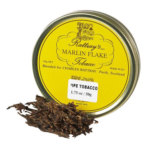 Rattray's Marlin Flake Pipe Tobacco   1.75 OZ TIN