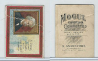 T112 Mogul Cigarettes, Toast Series, 1909, A Woman Is Only A Woman, Twain