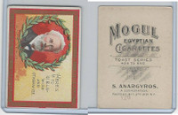 T112 Mogul Cigarettes, Toast Series, 1909, Heres To Girls Wise