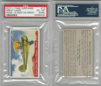 F277-1, H.J. Heinz, Famous Airplane Pictures, 1935, #13 Great, PSA 6 MK EXMT