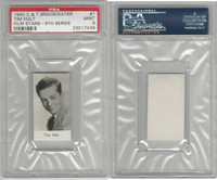 B0-0 Bridgewater, Film Stars 8th Series, 1940, #1 Tim Holt, PSA 9 Mint