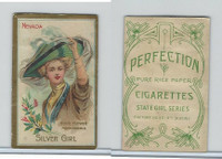 T106 ATC Cigarettes, State Girls, 1910, Nevada-Silver Girl