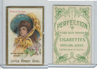 T106 ATC Cigarettes, State Girls, 1910, Rhode Island-Little Rhody Girl