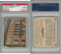T108 Between The Acts, Theatres, 1910, Illinios, Chicago, PSA 2 Good