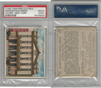 T108 Between The Acts, Theatres, 1910, Manhattan Opera, NY, PSA 2 MK Good