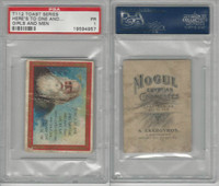 T112 Mogul Cigarettes, Toast Series, 1909, Heres To One, PSA 1