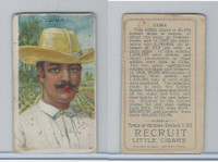 T113 Recruit, Types of Nations, 1910, Cuba